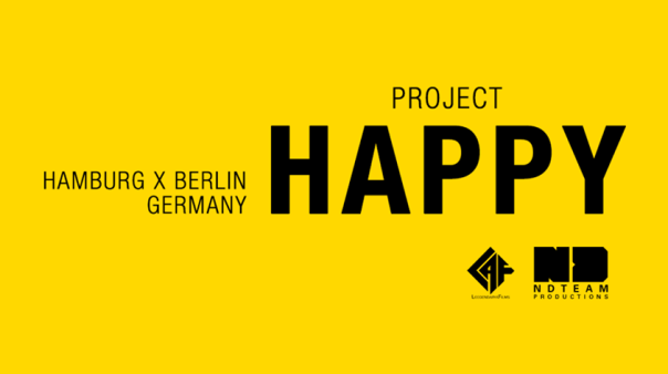 Project Happy in Berlin und Hamburg (c)NDTeam Productions